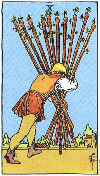 Ý nghĩa biểu tượng 78 lá bài Tarot theo chuẩn Rider Waite Smith 32