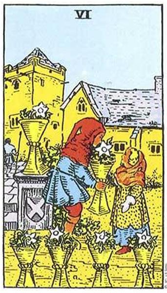 Ý nghĩa biểu tượng 78 lá bài Tarot theo chuẩn Rider Waite Smith 42