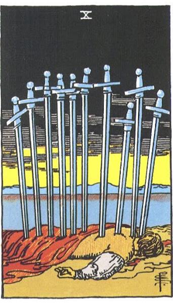 Ý nghĩa biểu tượng 78 lá bài Tarot theo chuẩn Rider Waite Smith 60