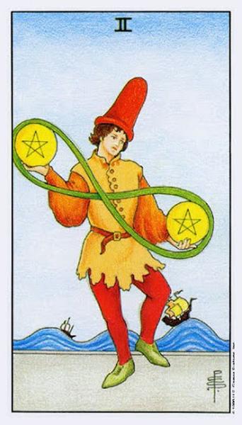 Ý nghĩa biểu tượng 78 lá bài Tarot theo chuẩn Rider Waite Smith 66