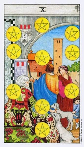 Ý nghĩa biểu tượng 78 lá bài Tarot theo chuẩn Rider Waite Smith 74