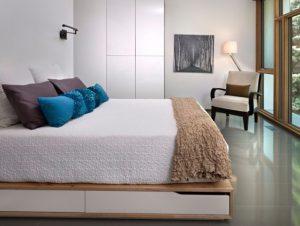 Top 10 ý tưởng đơn giản làm rộng không gian phòng ngủ chật hẹp, bạn nên biết 2