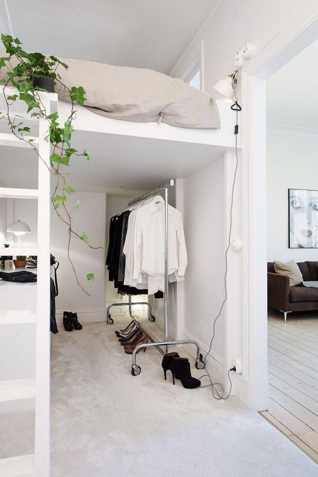 Top 10 ý tưởng đơn giản làm rộng không gian phòng ngủ chật hẹp, bạn nên biết 8