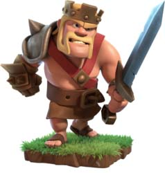 Barbarian King Hero trong Clash of Clans