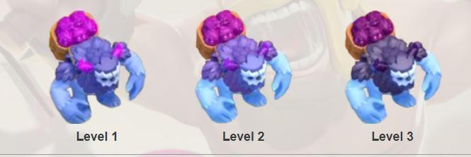 Hình ảnh quân Yetti 3 cấp độ