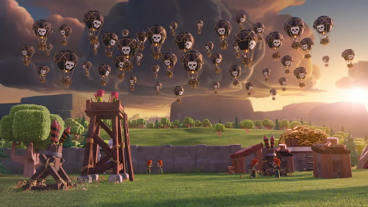 Balloon Clash of Clans - Khinh Khí Cầu Clash of Clans 1
