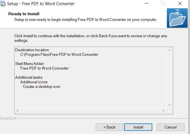 Chọn install để tiếp tục cài đặt phần mềm