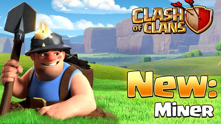 Miner Clash of Clan - Thợ Mỏ Clash of Clans 1