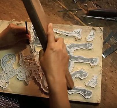 Ván dùng để vẽ tranh Đông Hồ