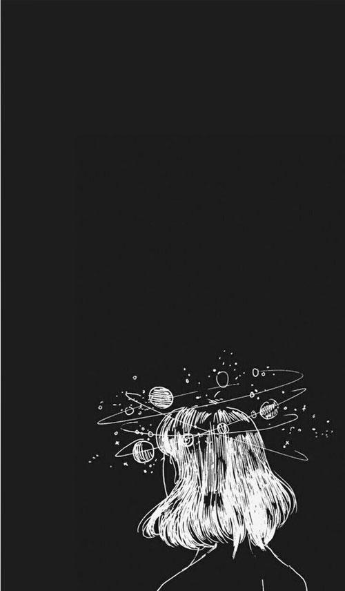 Hình nền đen buồn siêu ngầu