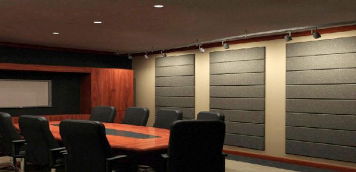 Ưng dụng tiêu âm phòng họp