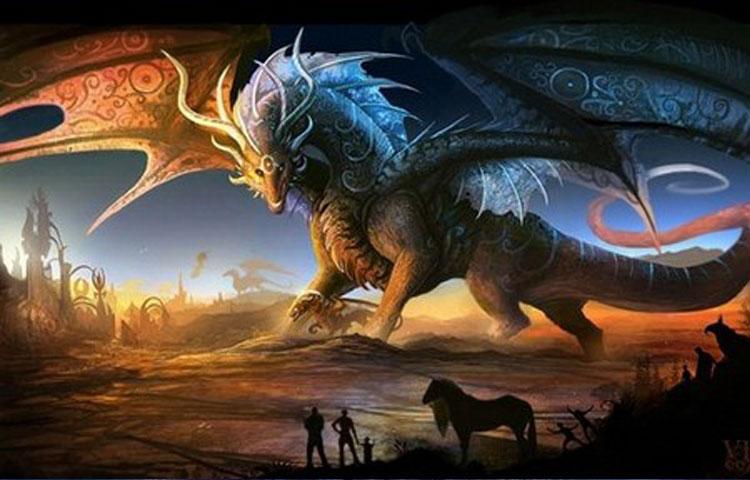 Hình ảnh đẹp 3d về rồng