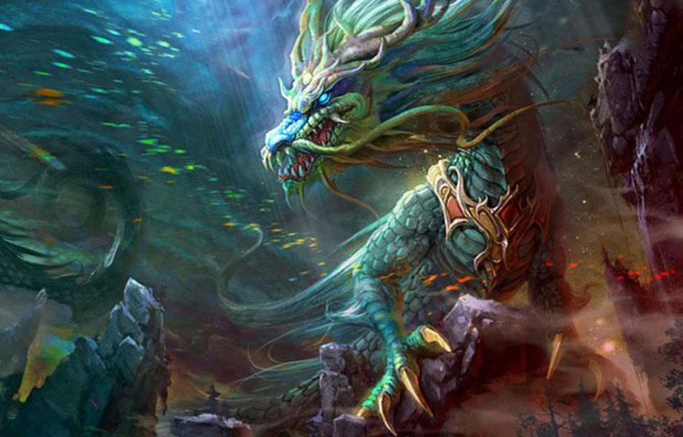 Hình ảnh 3d rồng 1000 năm tuổi