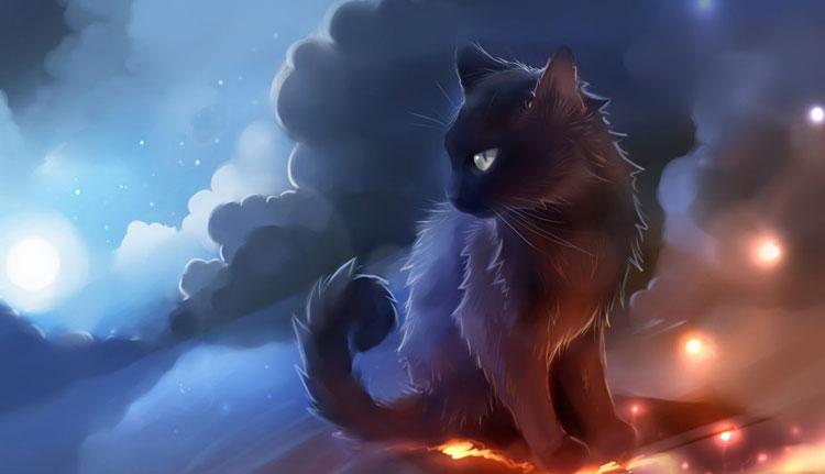 Chú mèo 3d hung dữ