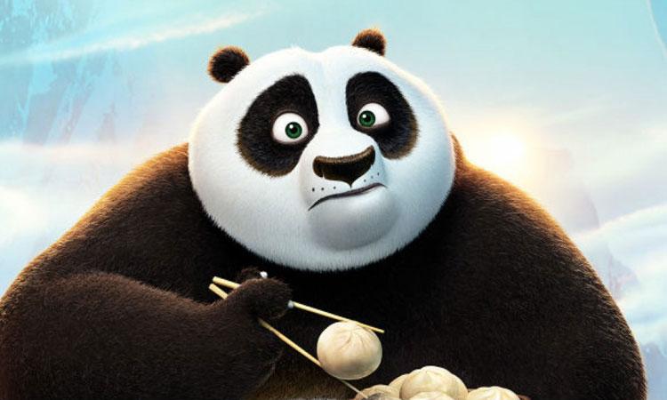 Gấu trúc trong Kungfu Panda