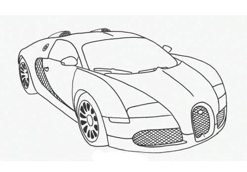 Tranh tô màu xe ô tô đua 10