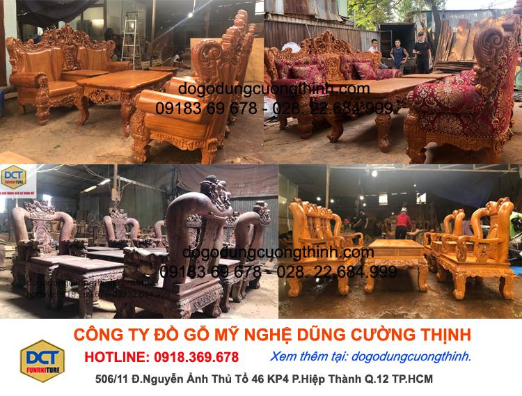 [Top] 10+ bộ bàn ghế phòng khách đẹp 2020 2
