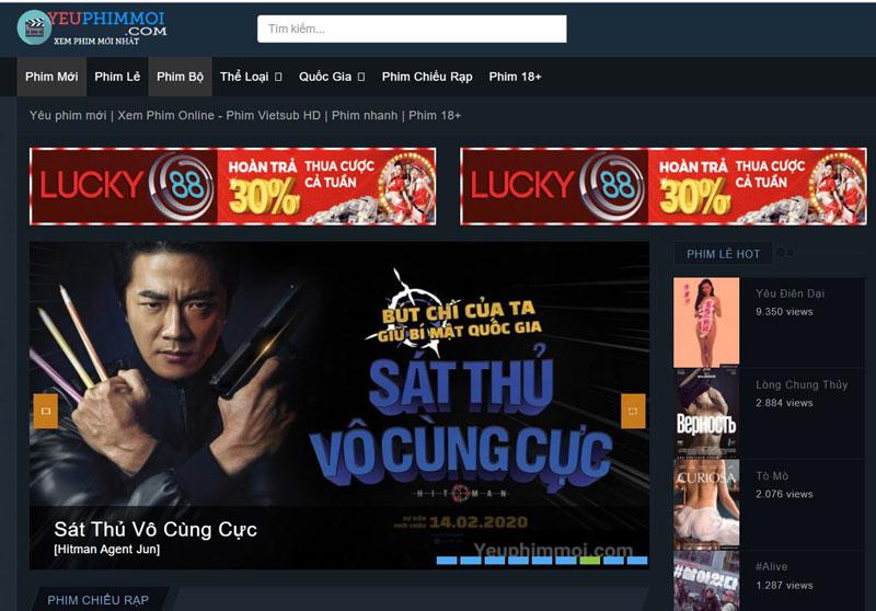 Trang xem phim Yeuphimmoi.com