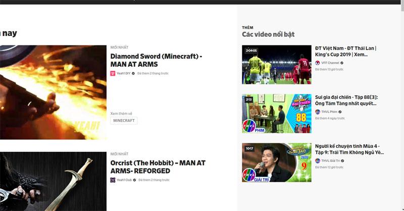 Trang web xem phim Dailymotion.com