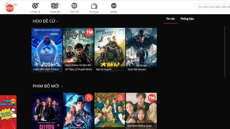 """[DANH SÁCH] 60+ Trang web xem phim online """"HD"""" tốt nhất 2020 - 2021 2"""