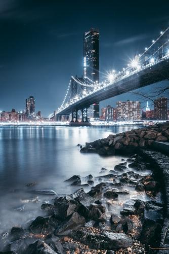 Hình nền iPhone 11 đẹp cảnh thành phố về đêm