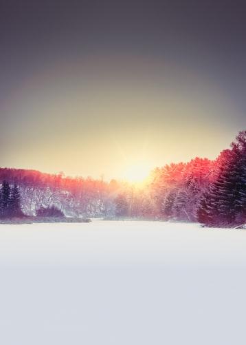 Hình nền iPhone về núi tuyết