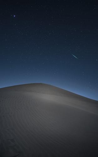 Hình nền bầu trời đêm dành cho iPhone cực ngầu