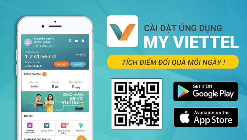 Cách kiểm tra gói cước nào Viettel bằng App My Viettel