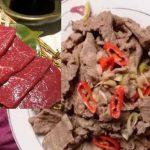 Cách làm món thịt ngựa xào lăn