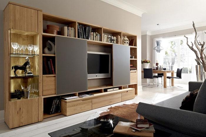 Lựa chọn loại kệ tivi phù hợp với không gian