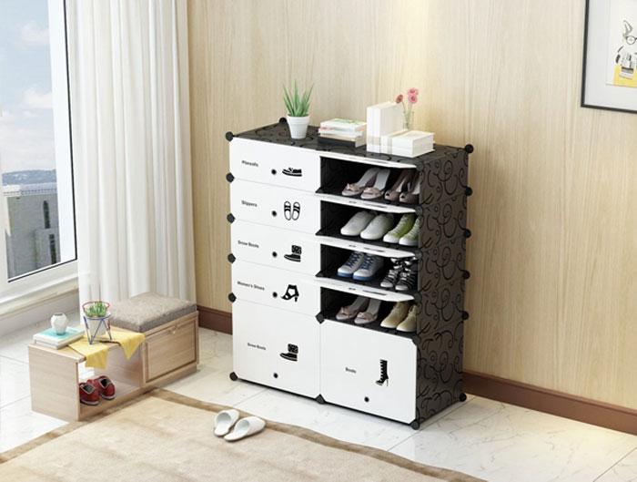 Tủ đựng giày dép nhiều ngăn