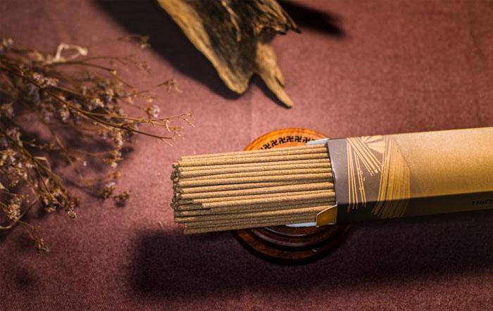 Nhang sạch được làm từ Trần Hương