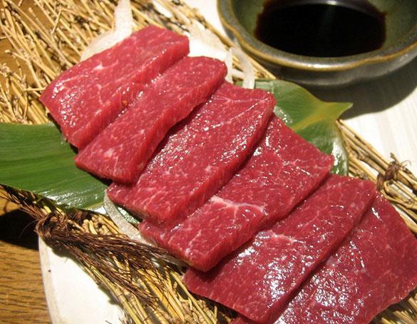 Thịt ngựa dùng để làm món thịt ngựa xào lăn