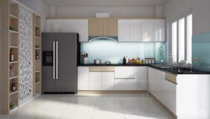 Mẫu kệ tủ bếp đẹp 2021