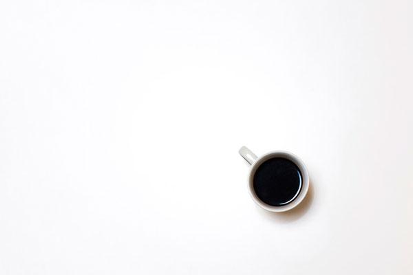 Hình nền dành cho máy tính ly cà phê hình ảnh đơn giản nhưng chất