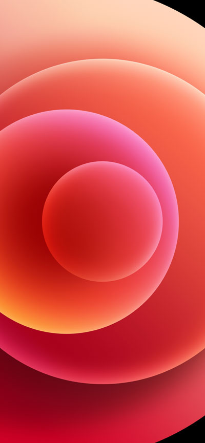 Hình nền iPhone 12 Red Light