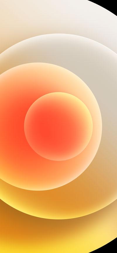 Hình nền iPhone 12 White Light