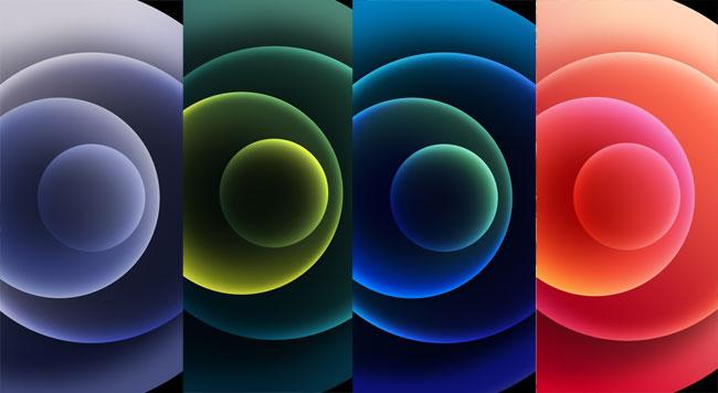 Bộ hình nền iPhone 12