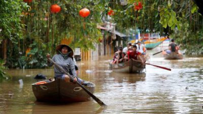 hình ảnh lũ lụt miền Trung 2020