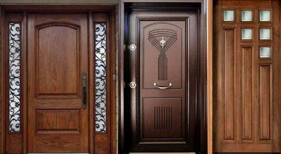 Mẫu cửa phòng khách đẹp 2021