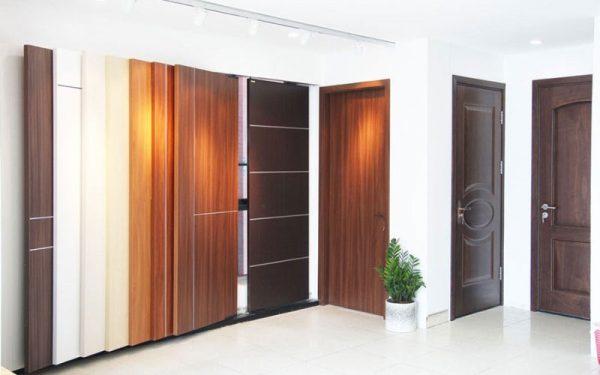 Mẫu cửa gỗ nhựa Composite đẹp