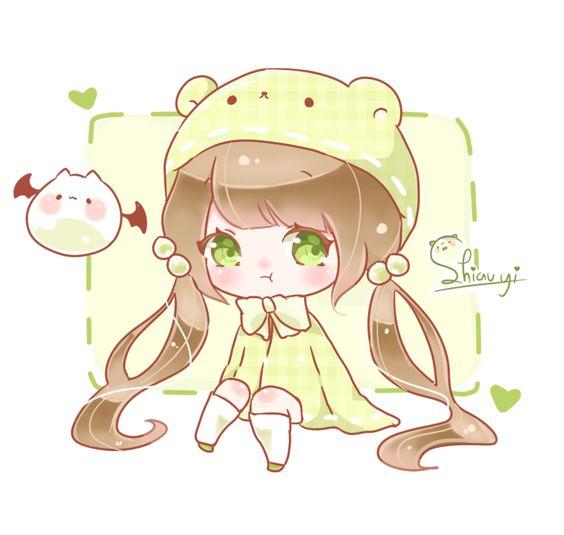 hình ảnh anime chibi đẹp