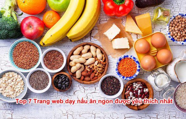 Top 7 Trang web dạy nấu ăn ngon được yêu thích nhất