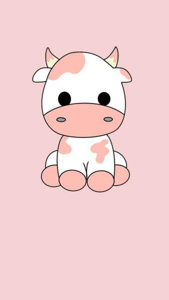 Hình nền bò sữa Cute đẹp, đáng yêu và dễ thương nhất